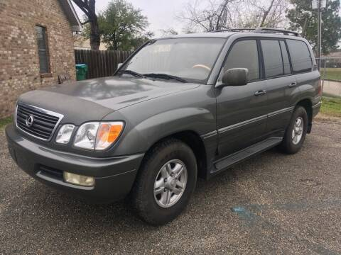 2000 Lexus LX 470 for sale at Autofinders in Gulfport MS