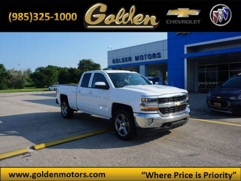 2017 Chevrolet Silverado 1500 for sale at GOLDEN MOTORS in Cut Off LA