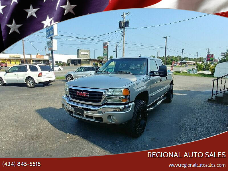 2006 GMC Sierra 1500 for sale at Regional Auto Sales in Madison Heights VA