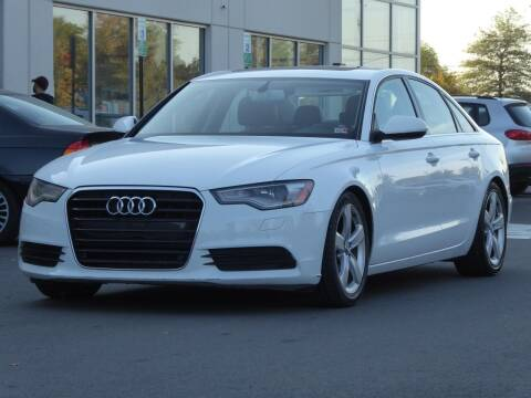 2012 Audi A6 for sale at Loudoun Motor Cars in Chantilly VA