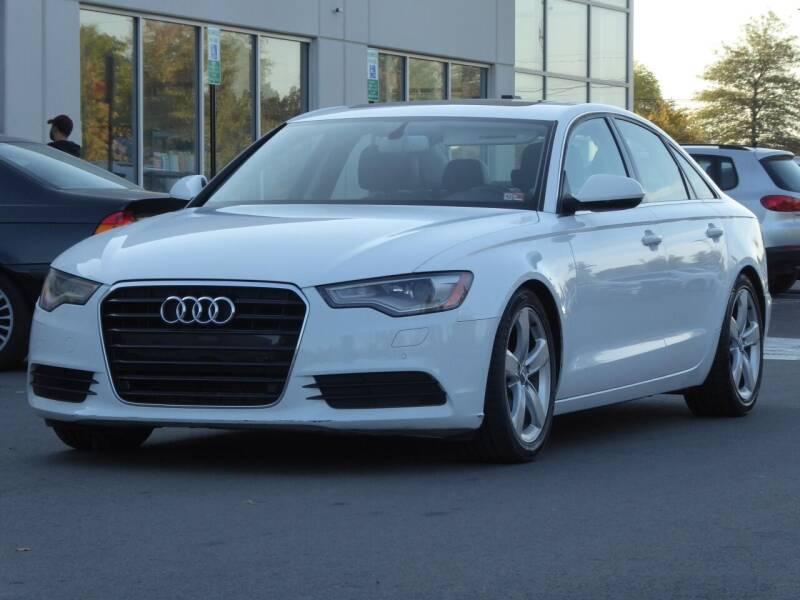 2012 Audi A6 for sale at Loudoun Used Cars - LOUDOUN MOTOR CARS in Chantilly VA