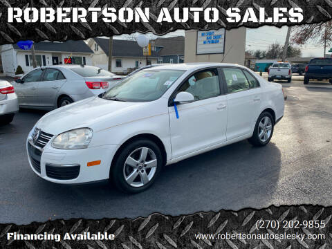 2009 Volkswagen Jetta for sale at ROBERTSON AUTO SALES in Bowling Green KY