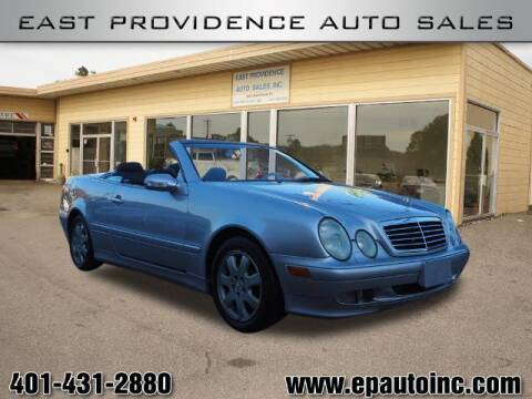 2002 Mercedes-Benz CLK for sale at East Providence Auto Sales in East Providence RI