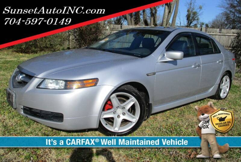 2005 Acura TL for sale at Sunset Auto in Charlotte NC