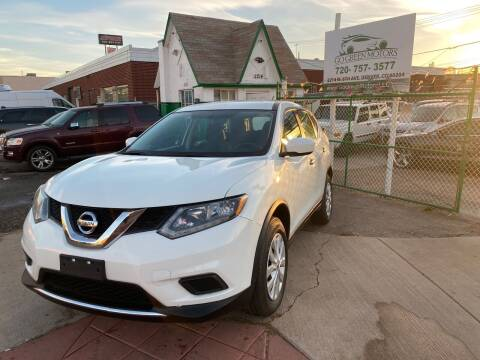 2016 Nissan Rogue for sale at GO GREEN MOTORS in Denver CO