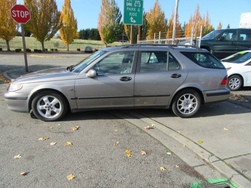 2001 Saab 9-5 for sale at Car Link Auto Sales LLC in Marysville WA