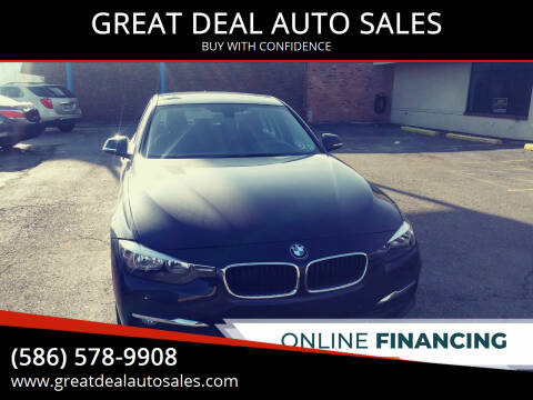 2017 BMW 3 Series for sale at GREAT DEAL AUTO SALES in Center Line MI
