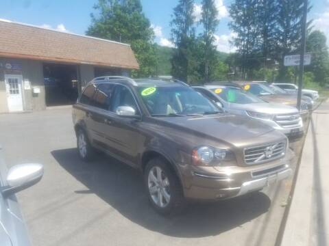 2013 Volvo XC90 for sale at JERRY SIMON AUTO SALES in Cambridge NY