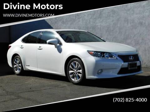 2013 Lexus ES 300h for sale at Divine Motors in Las Vegas NV