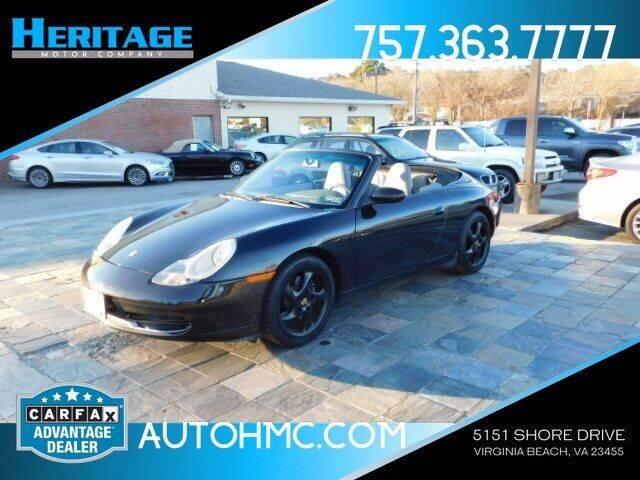 2001 Porsche 911 for sale at Heritage Motor Company in Virginia Beach VA