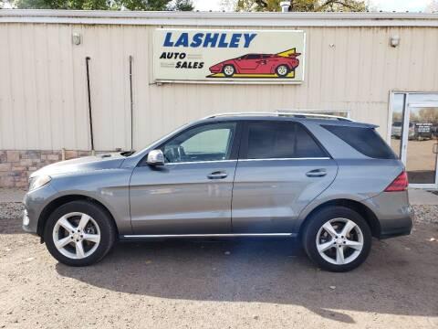 2017 Mercedes-Benz GLE for sale at Lashley Auto Sales in Mitchell NE