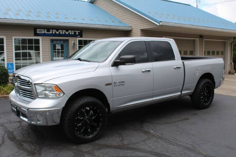 2017 RAM Ram Pickup 1500 for sale at Summit Motorcars in Wooster OH