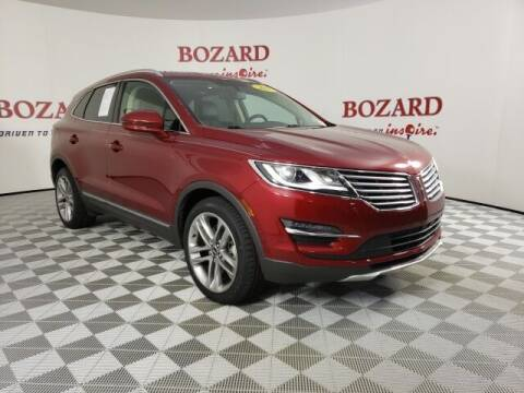 2018 Lincoln MKC for sale at BOZARD FORD in Saint Augustine FL