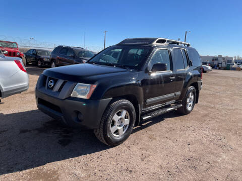2006 Nissan Xterra for sale at PYRAMID MOTORS - Fountain Lot in Fountain CO