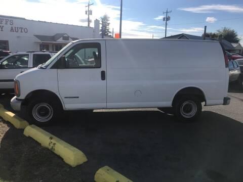 2001 GMC Savana Cargo for sale at Cliff's Qualty Auto Sales in Spokane WA