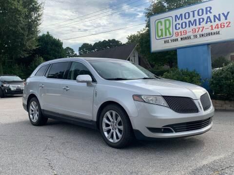 2014 Lincoln MKT for sale at GR Motor Company in Garner NC