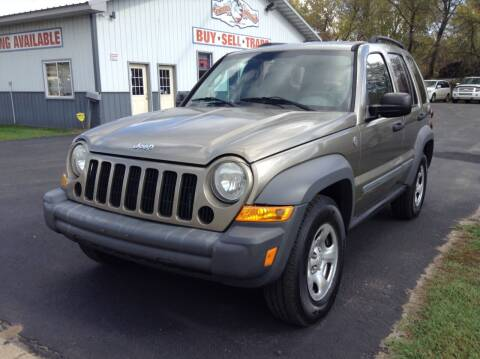 2005 Jeep Liberty for sale at Steves Auto Sales in Cambridge MN