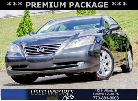 2008 Lexus ES 350 for sale at Used Imports Auto in Roswell GA