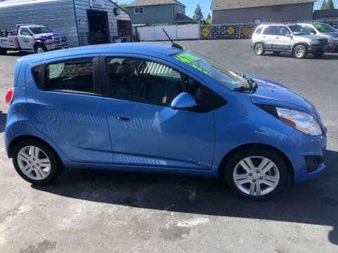 2015 Chevrolet Spark for sale at 3 BOYS CLASSIC TOWING and Auto Sales in Grants Pass OR