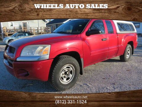 2008 Mitsubishi Raider for sale at Wheels Auto Sales in Bloomington IN