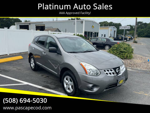 2012 Nissan Rogue for sale at Platinum Auto Sales in South Yarmouth MA