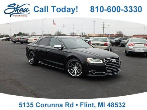 2016 Audi S8 for sale at Jamie Sells Cars 810 - Linden Location in Flint MI