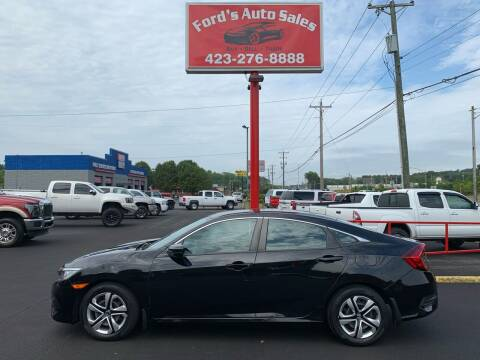 2017 Honda Civic for sale at Ford's Auto Sales in Kingsport TN