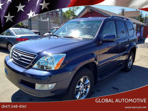 2003 Lexus GX 470 for sale at GLOBAL AUTOMOTIVE in Grayslake IL