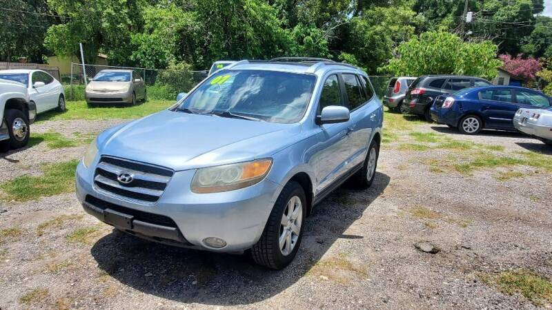 2007 Hyundai Santa Fe for sale at Firm Life Auto Sales in Seffner FL