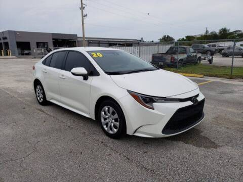 2020 Toyota Corolla for sale at GATOR'S IMPORT SUPERSTORE in Melbourne FL