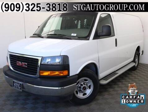 2019 GMC Savana Cargo for sale at STG Auto Group in Montclair CA