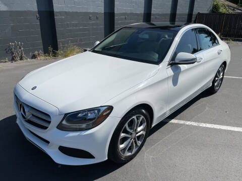 2016 Mercedes-Benz C-Class for sale at APX Auto Brokers in Lynnwood WA