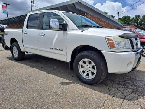 2005 Nissan Titan for sale at PARKWAY AUTO SALES OF BRISTOL - Roan Street Motors in Johnson City TN