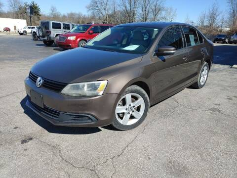 2012 Volkswagen Jetta for sale at Cruisin' Auto Sales in Madison IN