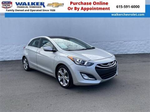 2013 Hyundai Elantra GT for sale at WALKER CHEVROLET in Franklin TN