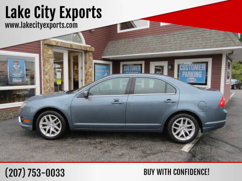 2012 Ford Fusion for sale at Lake City Exports in Auburn ME