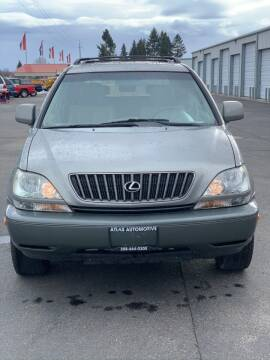 2000 Lexus RX 300 for sale at Atlas Automotive Sales in Hayden ID