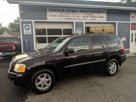 2008 GMC Envoy for sale at Richland Motors in Cleveland OH