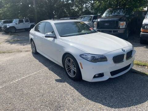 2016 BMW 5 Series for sale at EMG AUTO SALES in Avenel NJ