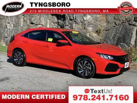 2017 Honda Civic for sale at Modern Auto Sales in Tyngsboro MA