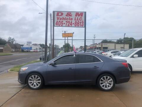 2013 Chevrolet Malibu for sale at D & M Vehicle LLC in Oklahoma City OK