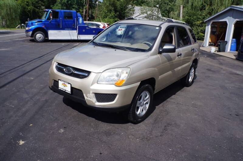 2009 Kia Sportage for sale at Autos By Joseph Inc in Highland NY