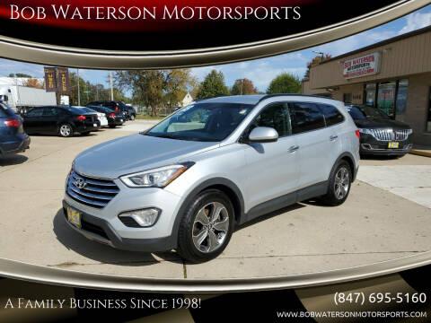 2013 Hyundai Santa Fe for sale at Bob Waterson Motorsports in South Elgin IL