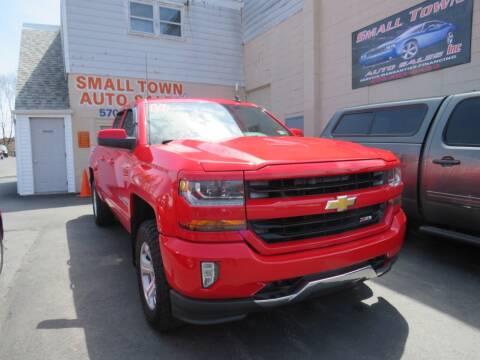2016 Chevrolet Silverado 1500 for sale at Small Town Auto Sales in Hazleton PA