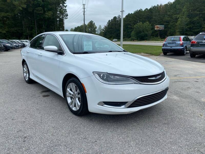 2015 Chrysler 200 for sale at Galaxy Auto Sale in Fuquay Varina NC