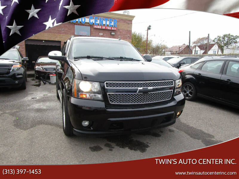 2010 Chevrolet Tahoe for sale at Twin's Auto Center Inc. in Detroit MI