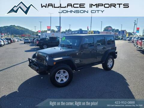 2015 Jeep Wrangler Unlimited for sale at WALLACE IMPORTS OF JOHNSON CITY in Johnson City TN