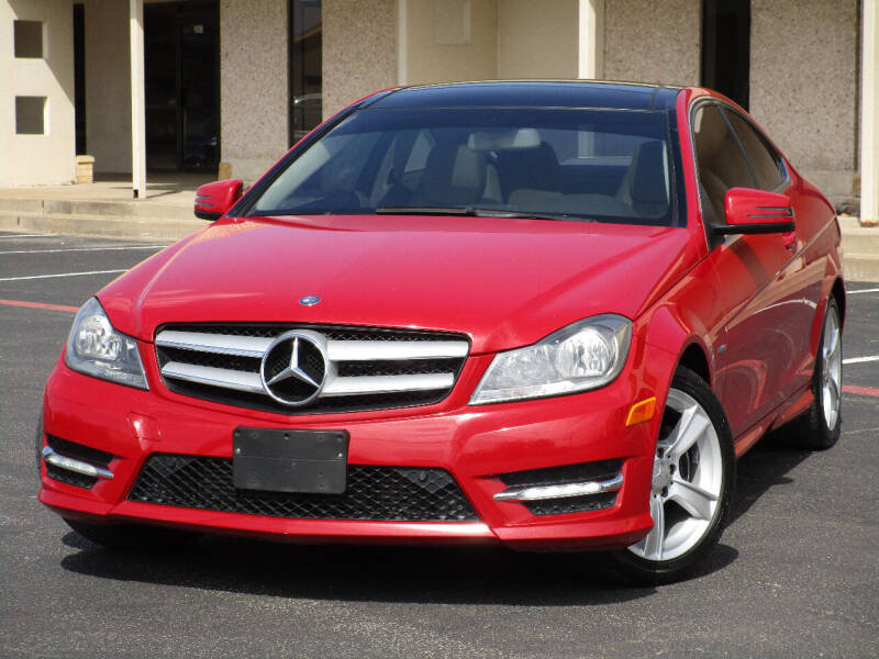2012 Mercedes-Benz C-Class for sale at Ritz Auto Group in Dallas TX