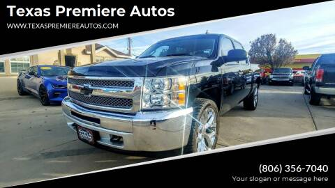2012 Chevrolet Silverado 1500 for sale at Texas Premiere Autos in Amarillo TX