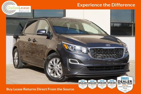 2019 Kia Sedona for sale at Dallas Auto Finance in Dallas TX